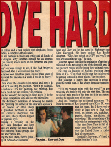 Dye Hard Thumb